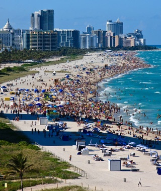 Most Crowded Spring Break Destinations