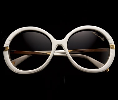 Trunk-Studded Sunglasses, $650, Louis Vuitton