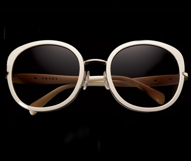 Wire-Bridge Sunglasses, $310, Prada