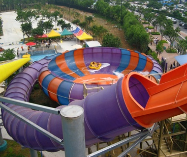Behemoth Bowl water slide in Chimelong Water Park, China