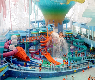RideHouse at Happy Magic Water Cube indoor waterpark