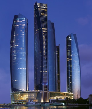 Jumeirah at Etihad Towers, Abu Dhabi, United Arab Emirates