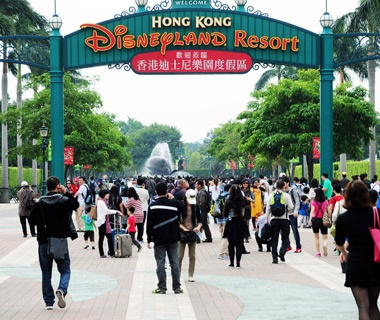 No. 15 Hong Kong Disneyland