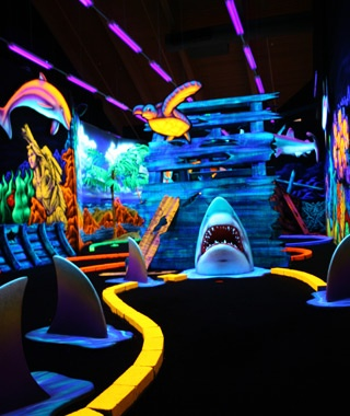Wild Abyss Mini-Golf, Wisconsin Dells, WI