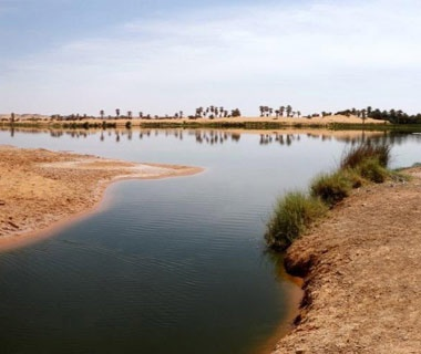Lakes of Ounianga, Chad