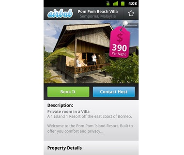 Snag a Private Room or Apartment: Airbnb