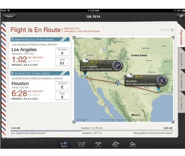 Track Your Air Travel: Flight+