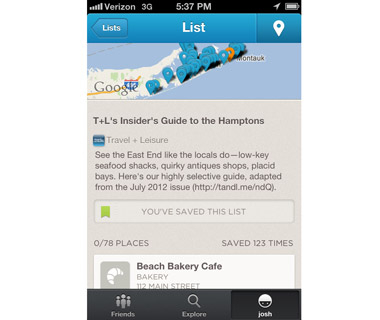 Find the Inside Scoop: Foursquare