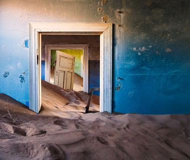 Kolmanskop Diamond Camp, Skeleton Coast, Namibia