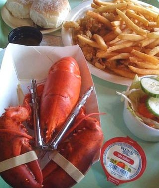 Shaw's Fish and Lobster, New Harbor, ME