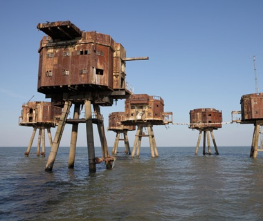 Maunsell Sea Forts, North Sea, U.K.
