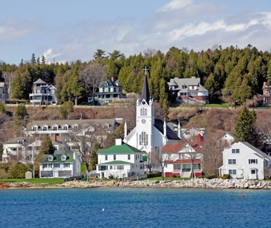 Romance on Mackinac Island, MI