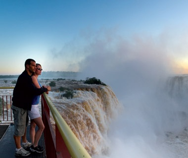 Getting Up-Close to Iguazú Falls, Brazil
