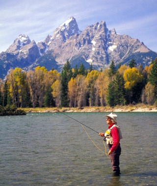 Fly-Fishing in Jackson Hole, WY