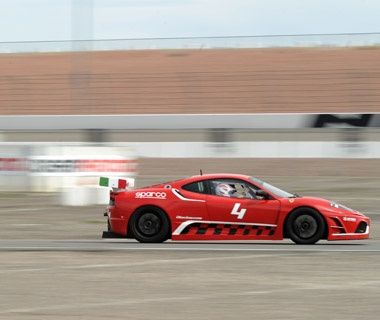 Racing in Las Vegas