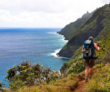 Hiking Hawaii's Na Pali Coast