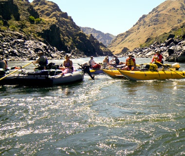 Rafting the Middle Fork of the Salmon River, ID