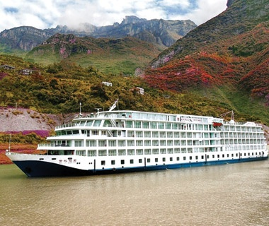 Cruising China's Yangtze River