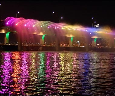 Banpo Bridge: Seoul
