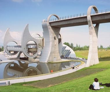 Falkirk Wheel: Falkirk, Scotland
