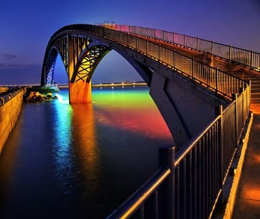 Xiying Rainbow Bridge: Penghu, Taiwan