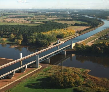 Magdeburg Water Bridge: Germany