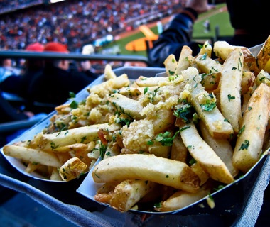 Gilroy Garlic Fries at AT&T Park, San Francisco