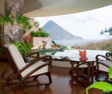 No. 19 Anse Chastanet Resort, St. Lucia [tied]
