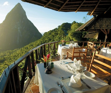 No. 19 Ladera Resort, St. Lucia [tied]