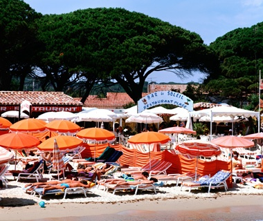 Pampelonne Beach, St.-Tropez, France