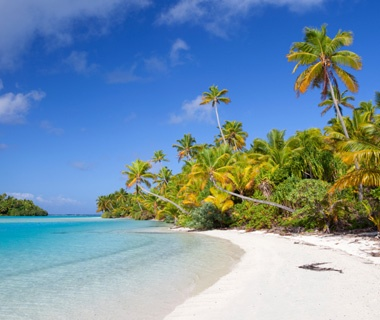 One Foot Island Beach, Cook Islands