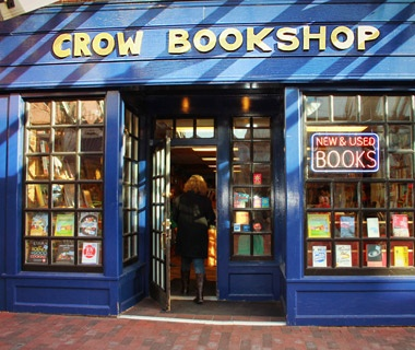 Crow Bookshop, Burlington, VT