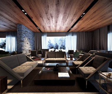 Best new mountain resorts travel leisure for Design hotels tm