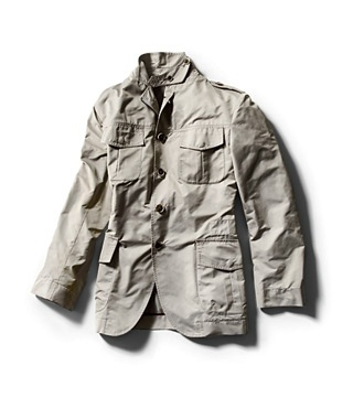 Best Men's Travel Clothing Luigi Bianchi Mantova Lightweight Field Jacket