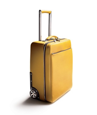 Best Luggage Porsche Design Leather Trolley