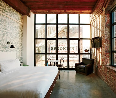 Best Hotel, Fewer Than 100 Rooms Wythe Hotel, Brooklyn, N.Y.