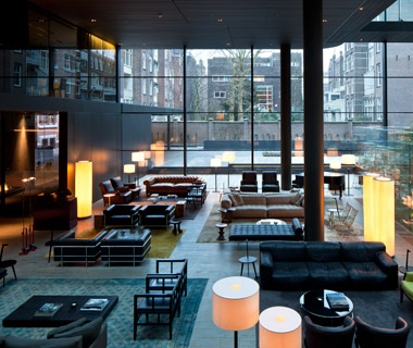 Honorable Mention: Best Hotel, 100 or More RoomsConservatorium Hotel, Amsterdam