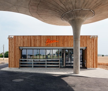 Honorable Mention: Best Transportation CS Gas Station, Matúškovo, Slovakia