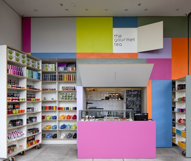 Honorable Mention: Best Retail Space The Gourmet Tea, São Paulo, Brazil