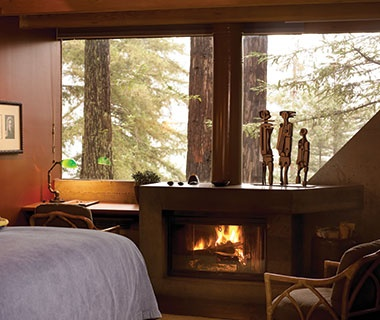 hotels with a fireplace in room. Post Ranch Inn  CA Most Romantic Hotel Fireplaces Travel Leisure