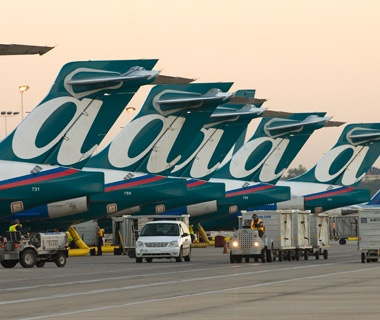 AirTran airliners at the airport