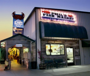 Phil's Fish Market & Eatery, Moss Landing, CA