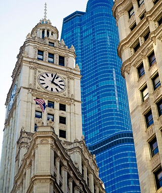 Wrigley Building Clock Tower, Chicago