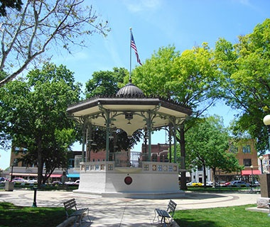 City Square Park, Oskaloosa, IA