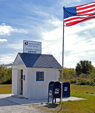 Ochopee Post Office, Ochopee, FL
