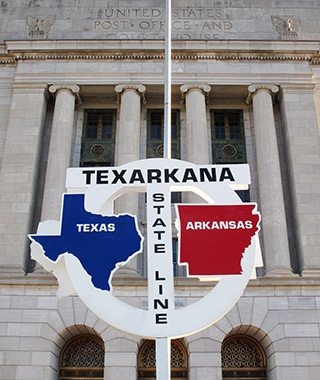 Texarkana Post Office, AR and TX