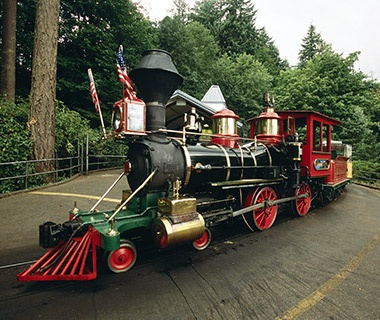 Washington Park and Zoo Railway, Portland, OR