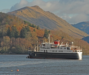 Hebridean Island Cruises cruise ship on the water