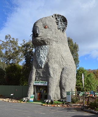 The Giant Koala, Dadswells Bridge, Australia
