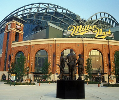Miller Park, Brewers, Milwaukee (MLB)